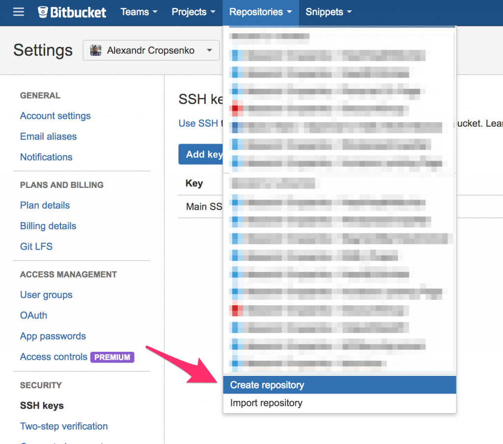Setting up Gerrit to Bitbucket Replication over HTTPS | Alexander