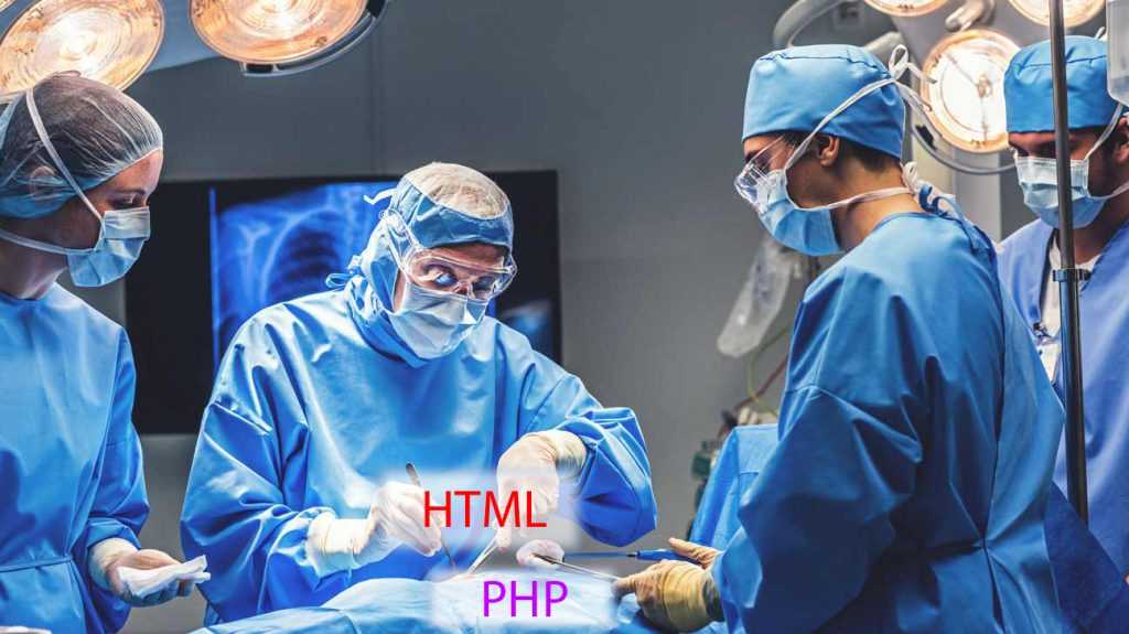 Extracting HTML from PHP